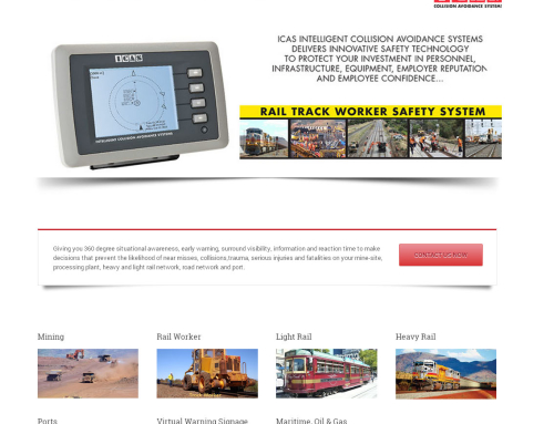 ICAS Australia Website Design