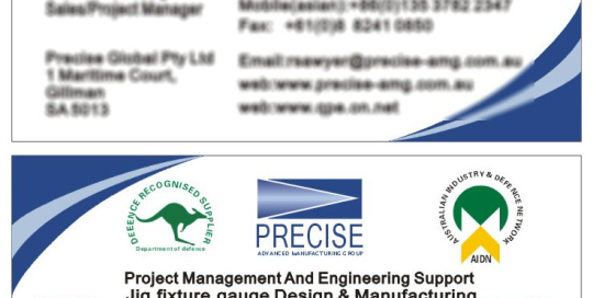 Precise Advanced Manufacturing Group (PAMG) Print By SH Designs