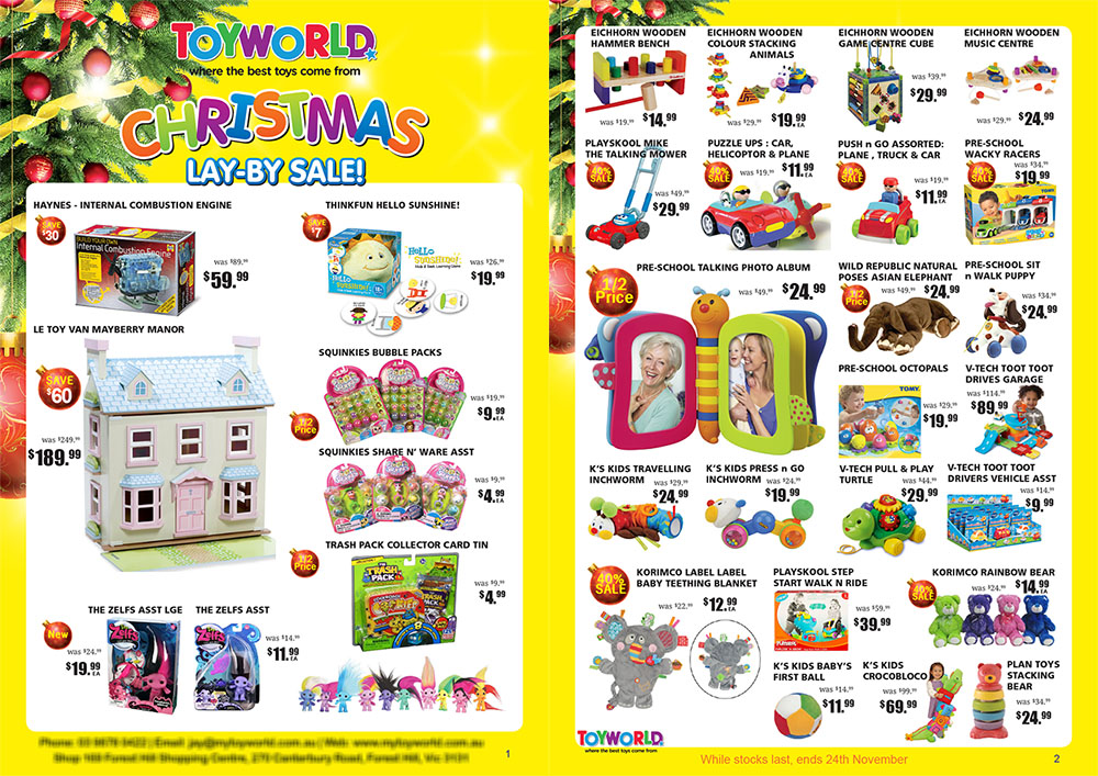 Toy World Brochure Design By SH Designs