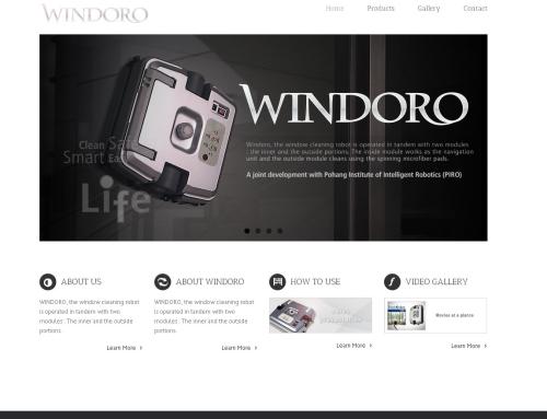 Windoro Website Design