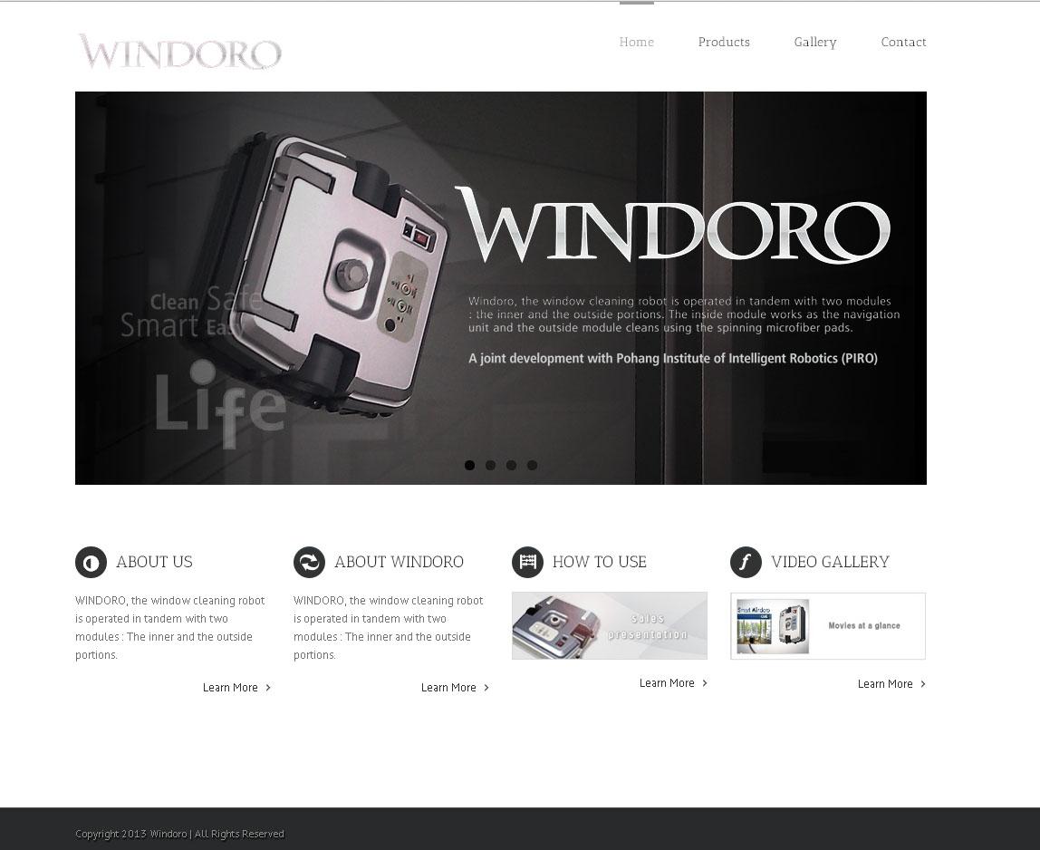 Windoro Website Design By SH Designs