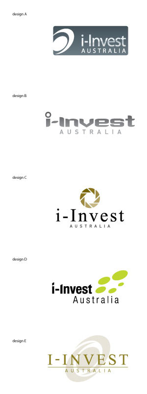 I-Invest Australia Logo designed by SH Designs