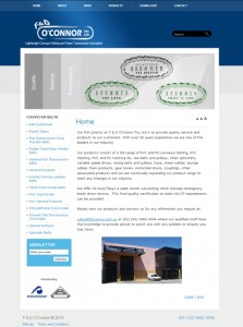 F&D O'Connor Website designed by SH Designs