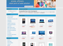 Satel Global E-Commerce Website designed by SH Designs