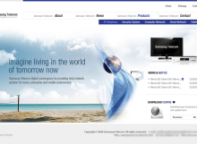 Total Samsung Solutions Website designed by SH Designs